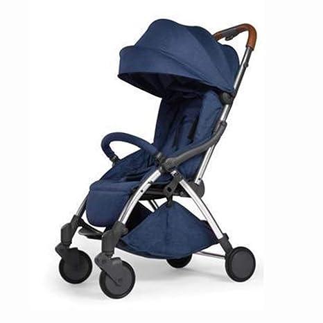 KKCD-Cochecito De Bebésilla De Paseo Cochecito De Bebé Ultraligero Automático Plegable Carro De Bebé