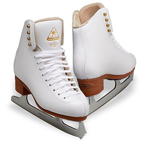 Jackson Figure Skates Foam (Jackson Ultima Elle DJ2130 Width B Size 4.5)