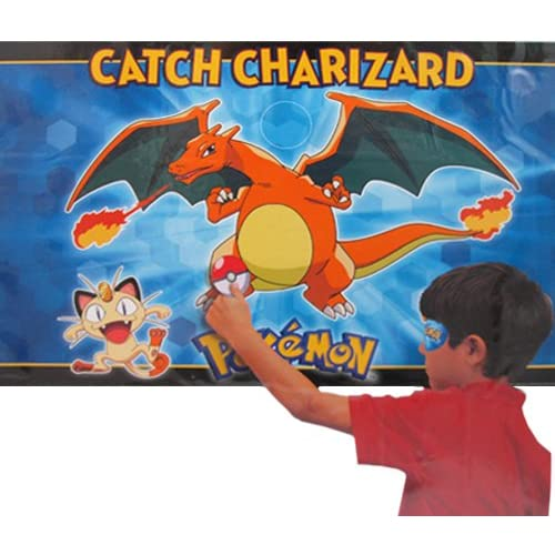Pokemon 'Pikachu and Friends' Party Game Poster (1ct)