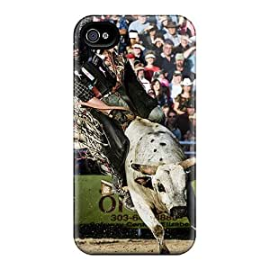 Iphone 6 Qjq417AVUJ Custom Vivid Bull Riding Pattern Bumper Hard Cell-phone Case -InesWeldon