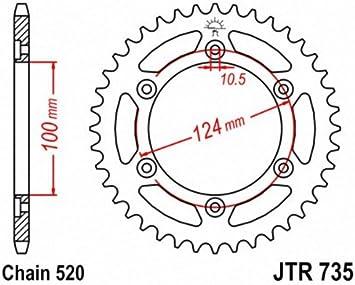 JT Sprockets JTR735.48 48T Steel Rear Sprocket