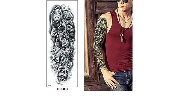 Handaxian 3pcs ángel Guerra Demonio Tatuaje anti-3pcs-2: Amazon.es ...