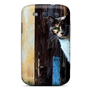 Durable Venetian Cat Back Case/cover For Galaxy S3