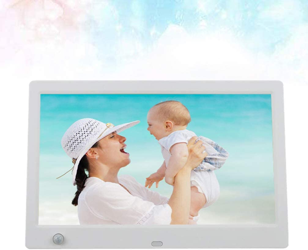 BESPORTBLE Digital Photo Frame with Motion Sensor Background Body Induction Blank