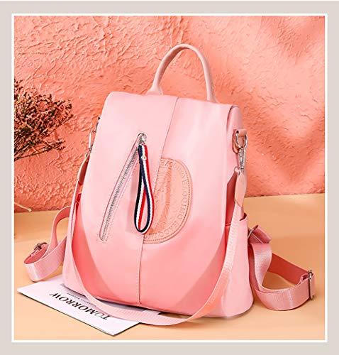 De Gkply Mochila Versátil Liviano Prueba Para Pink Escolar Agua Niñas Mujeres Bolso A purple Robos rzwAgqr