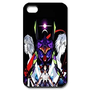 Gators Florida USA 3 Evangelion Print Black Case With Hard Shell Cover for Apple iPhone 4/4S
