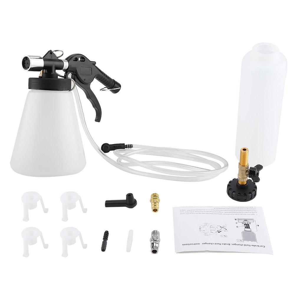 Acouto Car Brake Bleeder Bleeding Fluid Change Kit Air Pneumatic Garage Vacuum Tool Set 90-120PSI