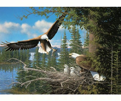 Nesting Eagles 1000 piece Puzzle