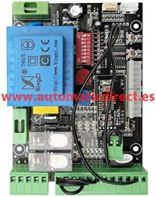 Cuadro de Maniobra Puerta Garaje Corredera Compatible con BFT Alpha 230V: Amazon.es: Bricolaje y herramientas