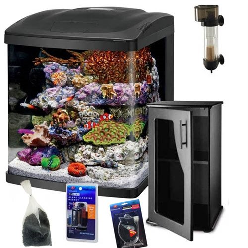 Coralife NEW STYLE Size 16 LED BioCube Aquarium REEF PACKAGE by Coralife