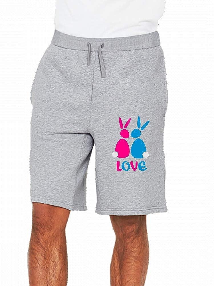 Love Hasen Mens Casual Shorts Pants