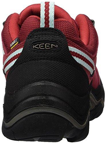 Hiking Women's Low Chili Wanderer Wp Shoes Pepper Red Gargoyle Rise Gargoyle Chili Pepper Keen ASq41ww