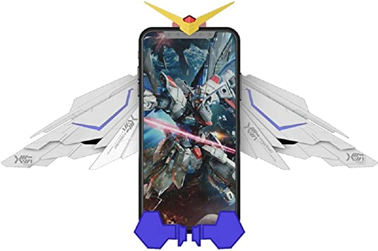 RegisBox Gundam Wireless Charger Qi Charger Mount Gundam Phone Holder Automatic Clamping Infrared Sensor Robotic Transforming Charger