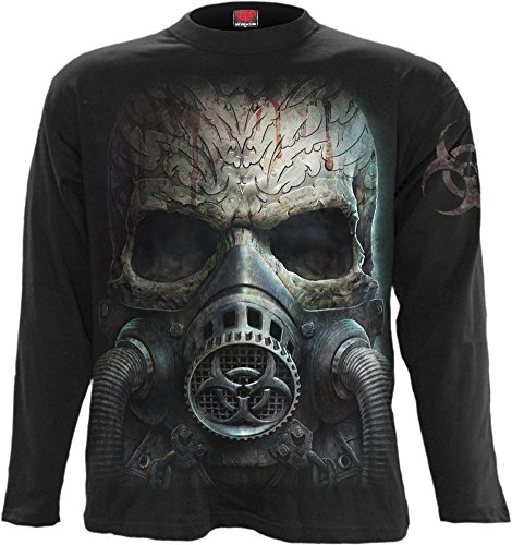 Spiral - Mens - BIO-Skull - Longsleeve T-Shirt