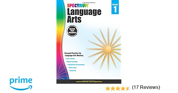 Spectrum Language Arts, Grade 1: Spectrum: 9781483812052: Amazon ...