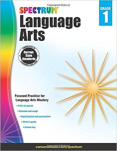 Spectrum Language Arts, Grade 1: Spectrum: 9781483812052: Amazon ...