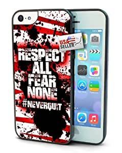 Diy iPhone 6 plus Sports Hashtag Never Quit 'Respect All Fear None