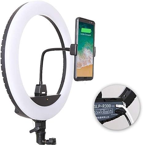 BIXINYAAN LED Anillo de Luz 3 Modos Regulable Kit de Iluminación ...