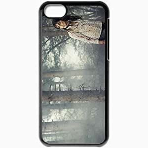 Personalized iPhone 5C Cell phone Case/Cover Skin Antichrist Black