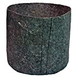 Round Fabric Plant Grow Bag | Breathable Pot Aeration Container | 100% Biodegradable (48, 7 Gallon)