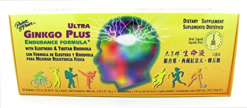 Prince Of Peace - Ultra Ginkgo Plus, 30 fl oz vials