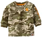 Carhartt Baby-Boys Newborn Camo Long Sleeve T-Shirt