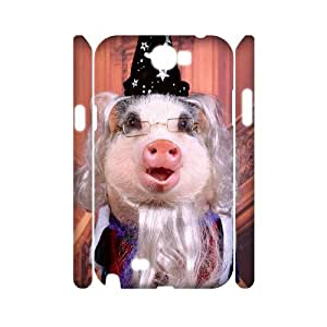 ADCASE case Of Pig Customized Hard Case For Samsung Galaxy Note 2 N7100