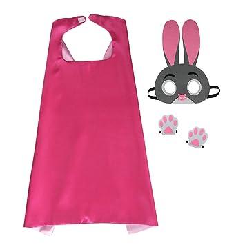 Prinzessin verkleiden Umhang und Kaninchen Maske mit Kaninchen Füße ...
