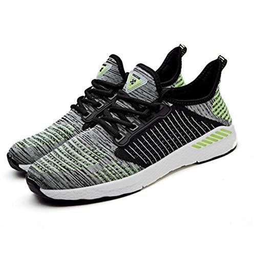 Mesh Tutta Scarpe Quotidiana da Casual Corsa Stringate Stagione la Scarpe Traspirante comode Jogging da per in Moda Piatte Usura Sportive Sneakers aIx01a7q