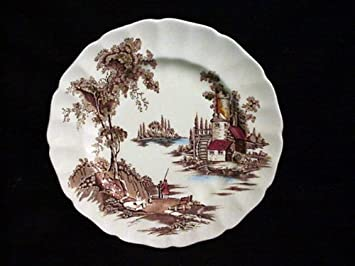 JOHNSON BROTHERS DINNER PLATE OLD MILL THE (BROWN/MULTI) & Amazon.com : JOHNSON BROTHERS DINNER PLATE OLD MILL THE (BROWN ...
