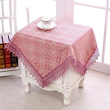 Cubierta de tabla cubierta toallas nevera boot tela home simple Europeo ordenador tela tela 85 * 85cm (1 pieza),?? morado: 110 x 160 cm (1).