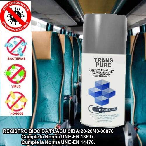 CESPRAM-Spray desinfectante descarga total con REGISTRO SANITARIO ...