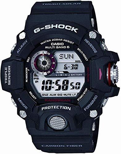 - Casio Men's GW-9400J-1JF G-Shock Digital G Rangeman Series Multiband 6, Black Watch