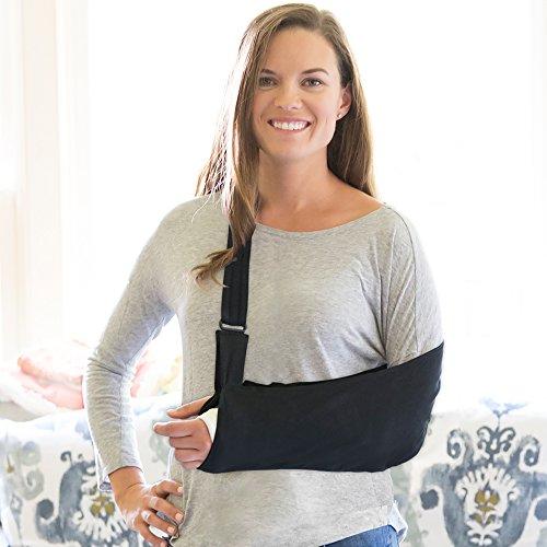 Ultimate Arm Sling® - Average Adult, black (Sling Padded Arm)