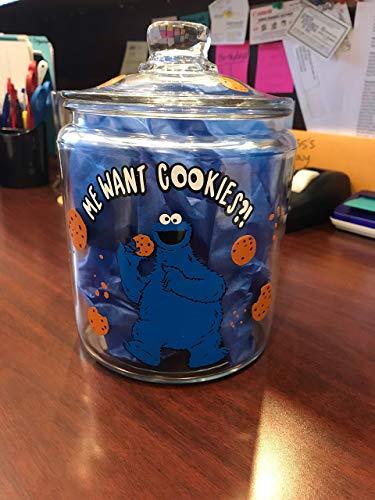 Diy Monster Costume Ideas (Cookie Jar Vinyl Decal DIY cookie jar decor comes with Cookie Monster, writing, cookies and crumbs decal)