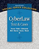 Bundle: CyberLaw: Text and Cases, 3rd + Business Law Digital Video Library Printed Access Card : CyberLaw: Text and Cases, 3rd + Business Law Digital Video Library Printed Access Card, Ferrera and Ferrera, Gerald R., 1111626987