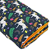 KAMEIOU Polar Fleece Guinea Pig Cage Liner Bedding