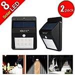 GRDE� 8 LED Solar Powered Security Li...