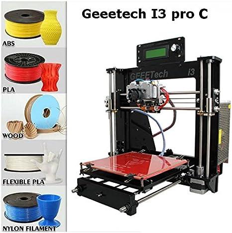 Sin montar DIY Geeetech i3 Pro C de doble extrusor impresora 3d ...