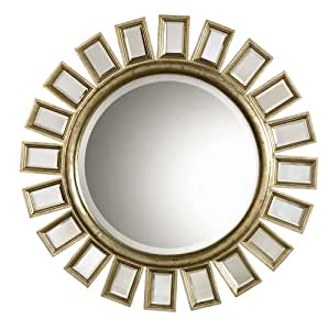 Uttermost 14076 34-Inch by 34-Inch Cyrus Mirror