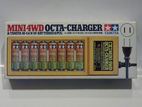 タミヤ 単3型 8本と専用充電器 (ミニ四駆バッテリー:15178)