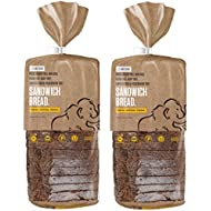 Base Culture Paleo Bread, Large Size | Delicious 100% Paleo, Gluten, Grain, Dairy, and Soy Free- Perfect for Sandwiches (5g Protein Per Loaf, 18 Slices Per Loaf, 2 Count)