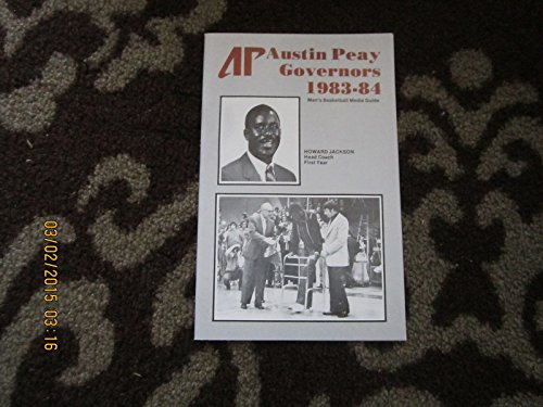 Austin Peay Governors University 1983 -84 basketball guide ()