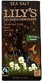 Lily's Dark Chocolate with Stevia Sea Salt -- 2.8 oz - 2 pc