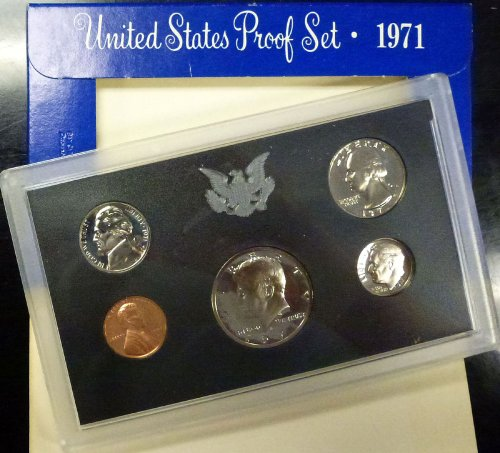 1971 U.S. Mint Proof Set Uncirculated