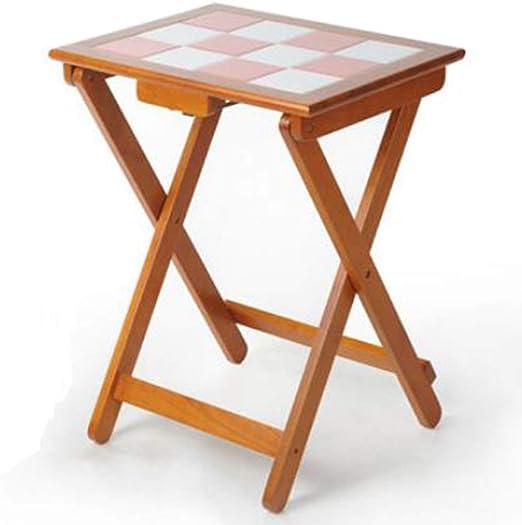 Mesas Mesa plegable Mesa pequeña simple para el hogar Mesa ...