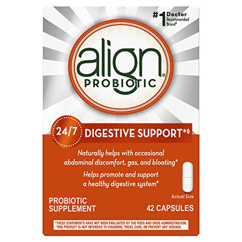 Align Probiotic Supplement, 24/7 Digestive Support with Bifantis