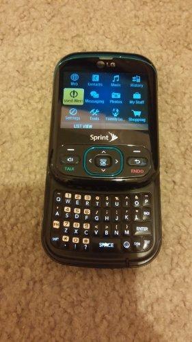 LG Remarq LN240 Sprint Blue/Black Cellular Phone