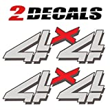 Tires FX 1999-2006 Chevy Silverado 4x4 (Set of 2 Decals) Bed Side 1500 2500 HD