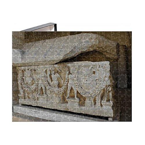 Third Sarcophagus (252 Piece Puzzle of Garland sarcophagus. Marble. Tel Mevorah (14378969))